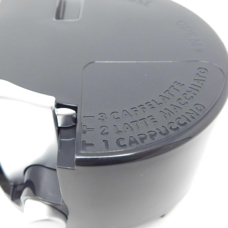 Ansaugrohr Milchbehälter ESAM 5500 5600 6700 DeLonghi Aufschäumer Deckel inkl